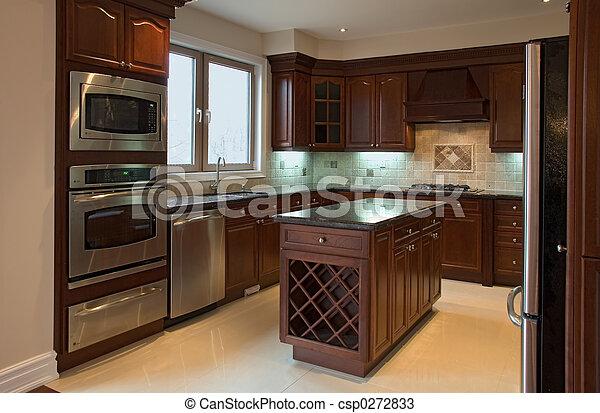 Innenküche - csp0272833