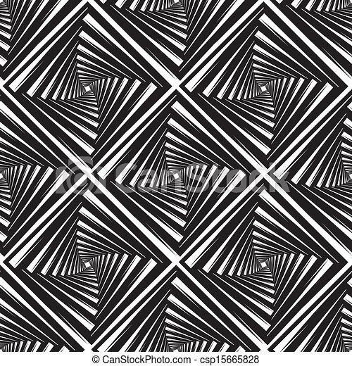 Leichtes Muster mit Quadraten, Vektor Illustration - csp15665828