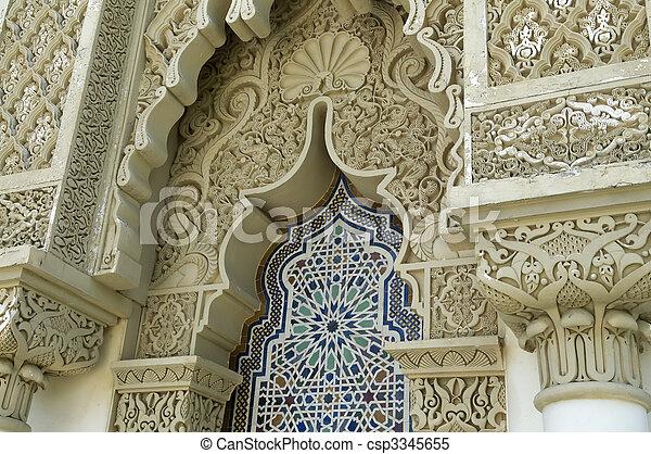 marokkanische Architektur - csp3345655