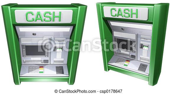 Geldautomat - csp0178647