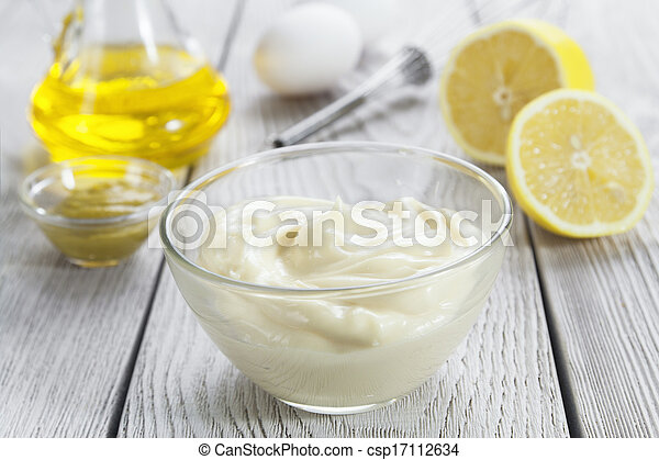 mayonnaise, selbstgemacht - csp17112634