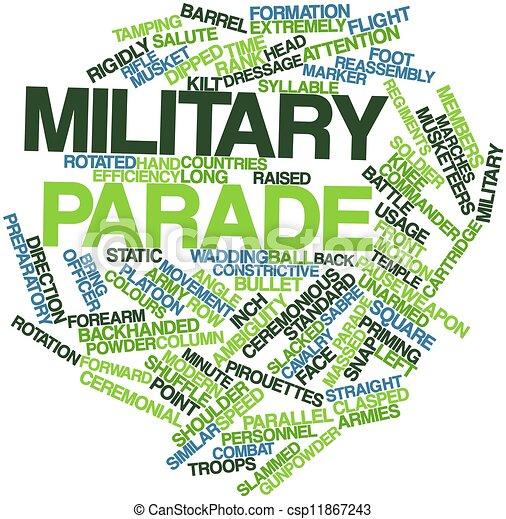 Militärparade - csp11867243