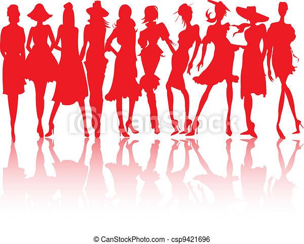 Modemodelle. - csp9421696