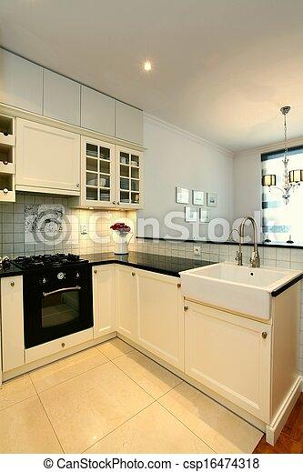 Moderne Küche - csp16474318