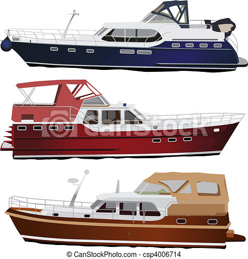 Motorboote - csp4006714