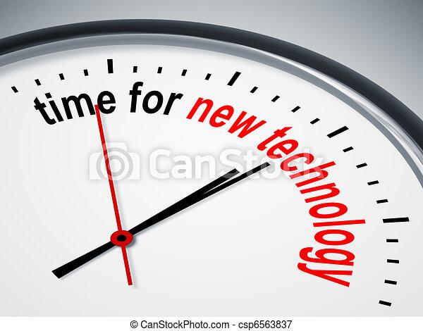 Zeit für neue Technologien - csp6563837