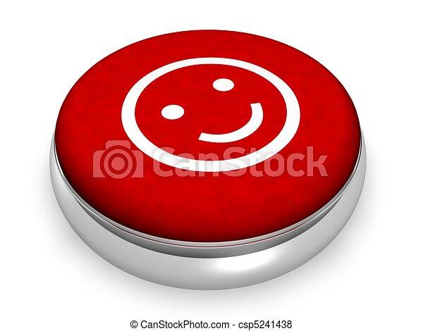 Online lächelndes Gesicht - csp5241438