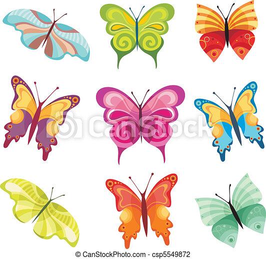 papillon, satz - csp5549872