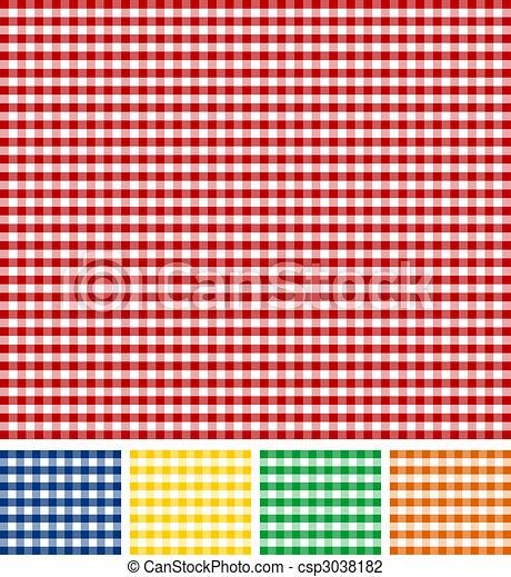 Picnic Tischdecke Textur - csp3038182