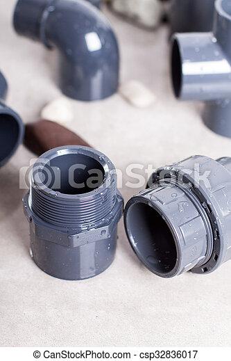 System PVC-U-Anschlüsse - csp32836017