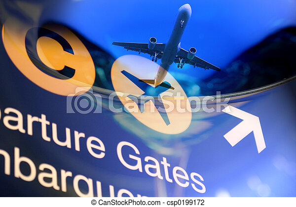 reise, design - csp0199172