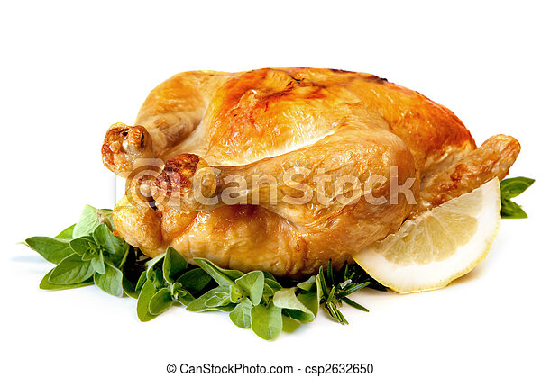 Roast Chicken. - csp2632650