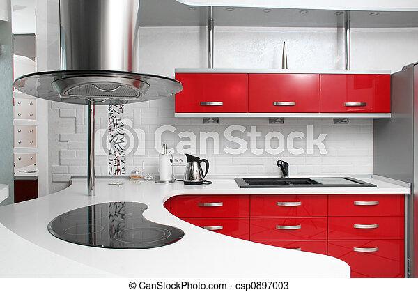 Rote Küche - csp0897003