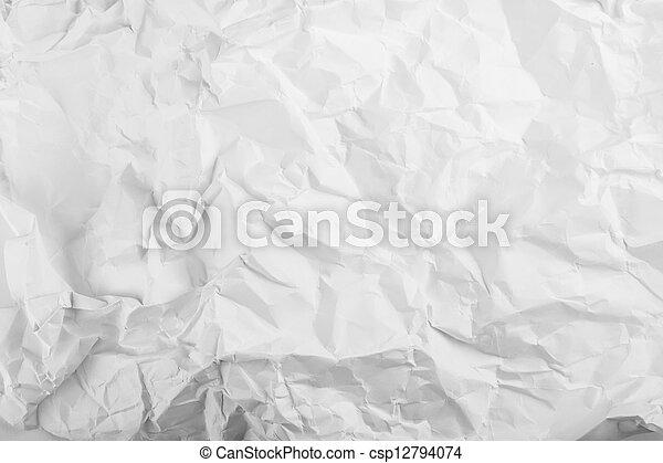 runzelig, papier - csp12794074
