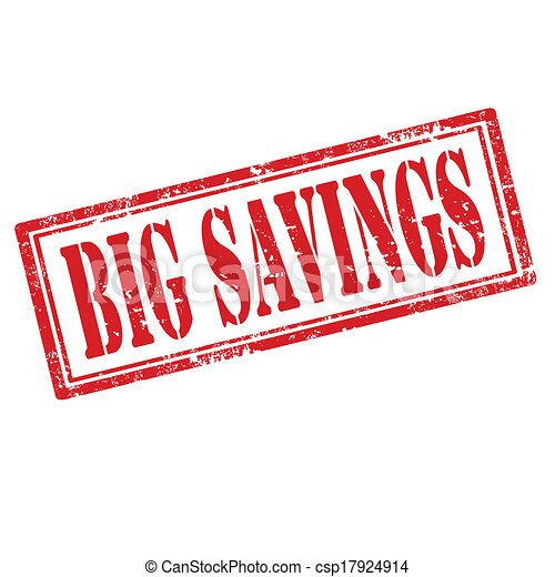 savings-stamp, groß - csp17924914