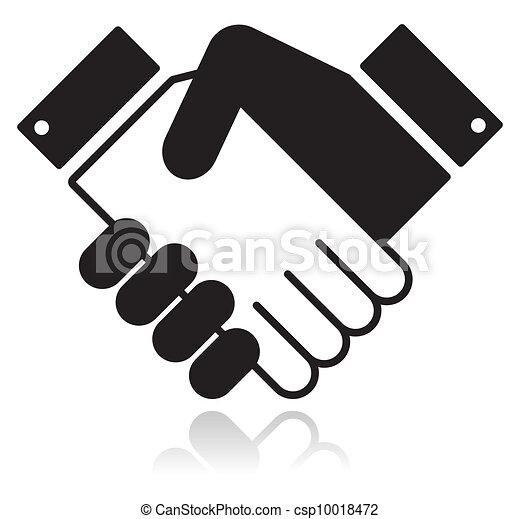 schüttelnd, ikone, glänzend, saubere hände - csp10018472
