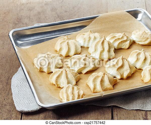 Selbstgemachte Kekse. - csp21757442