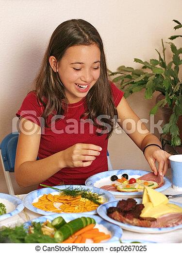 Spaß mit Essen - csp0267025