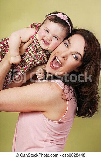 Spaß mit Mama - csp0028448