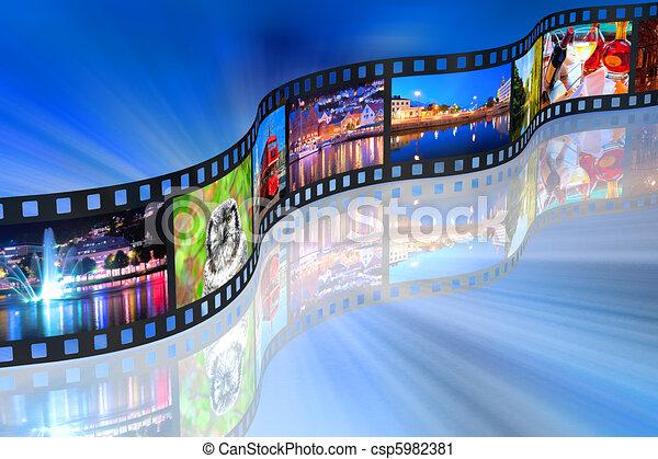 Ein Medienkonzept - csp5982381