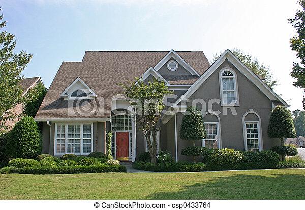 Stucco Haus 2 - csp0433764