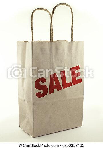 tasche, shoppen - csp0352485