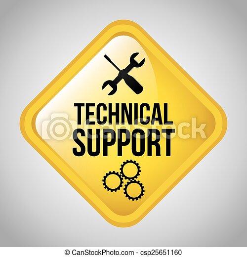 Technische Unterstützung. - csp25651160