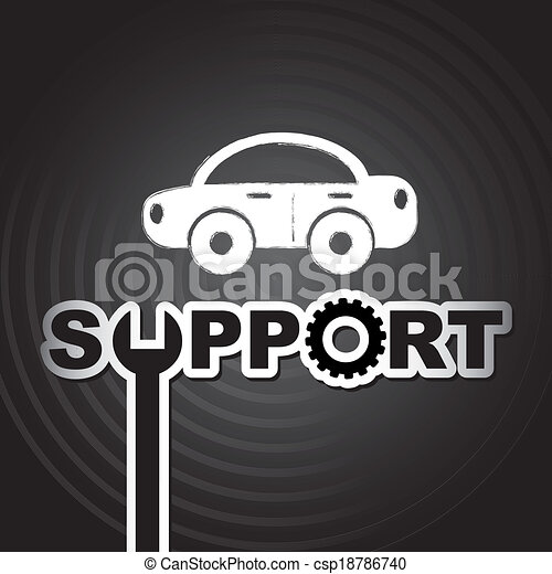 Technische Unterstützung. - csp18786740