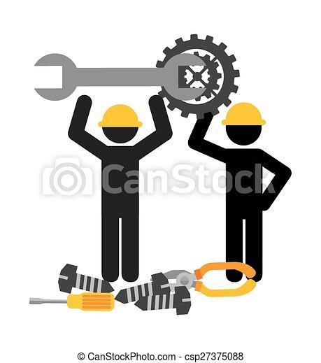 Technische Unterstützung. - csp27375088