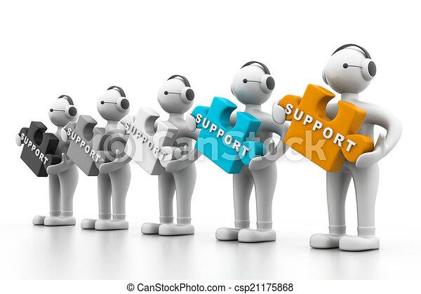 Technische Unterstützung. - csp21175868