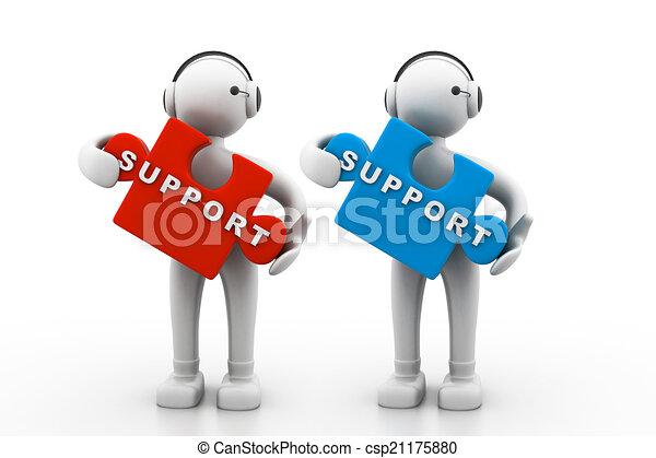 Technische Unterstützung. - csp21175880