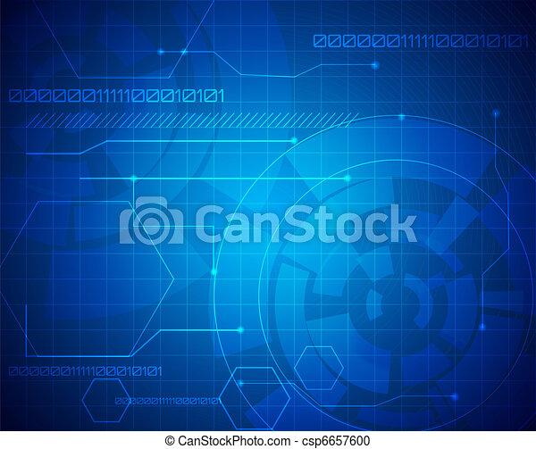 Technologie-Hintergrund deaktivieren - csp6657600