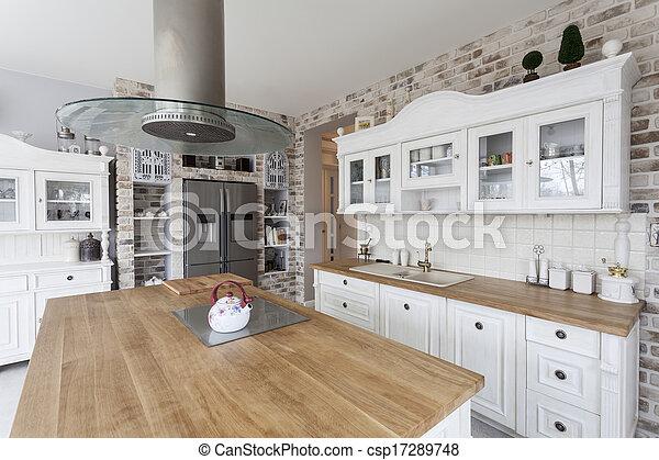 Toskana - Küchenregale - csp17289748