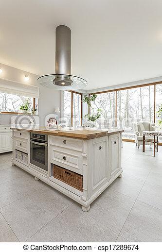 Toskana - Küche. - csp17289674