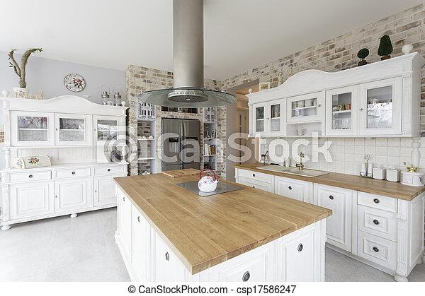 Toskana - Küche. - csp17586247