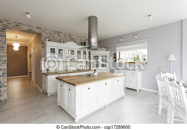 Toskana - Küche. - csp17289600