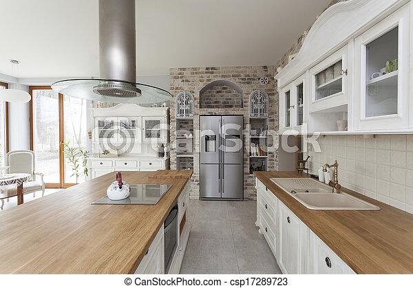 Toskana - Küchenmöbel. - csp17289723
