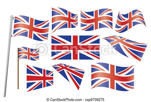 Union Jack. - csp9709275