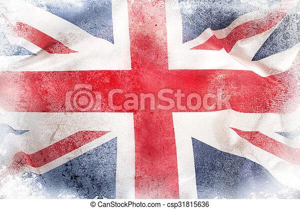 Union Jack. - csp31815636