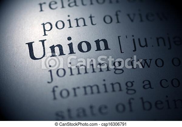 Union. - csp16306791