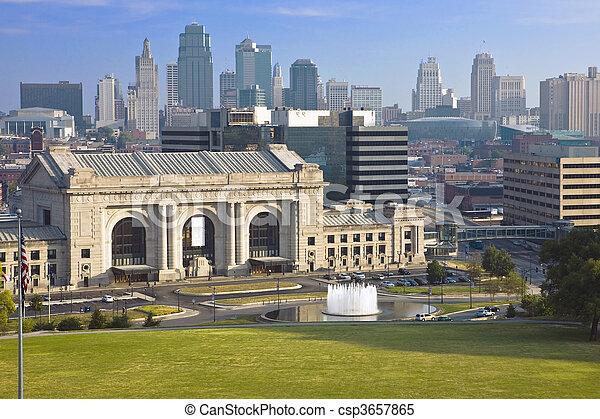 Unionsstation, Kansas City. - csp3657865