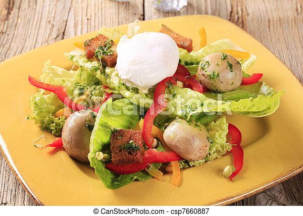 Vegetarier-Vorspeise - csp7660887