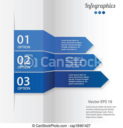 Business Infographics Vektorgrafik - csp18461427
