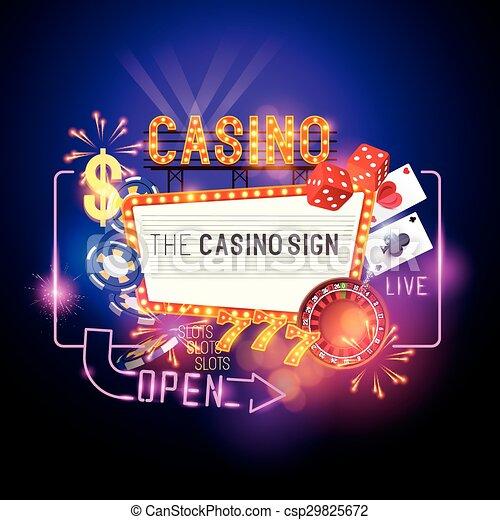 Casino-Signalvektoren - csp29825672