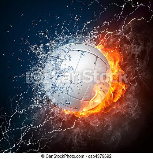 Volleyball - csp4379692