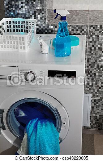 Waschpulver zum Waschen - csp43220005