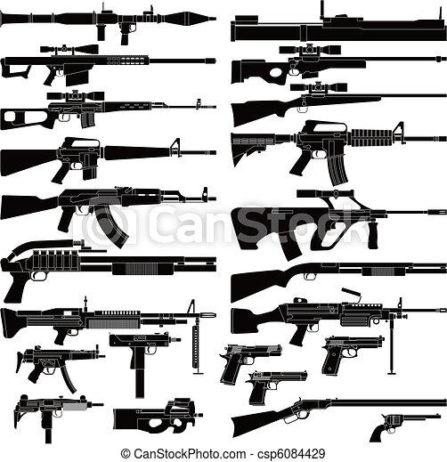 Waffe - csp6084429