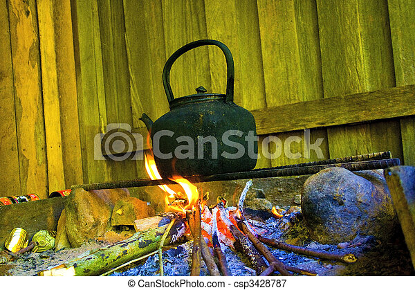 Wasser kochen - csp3428787