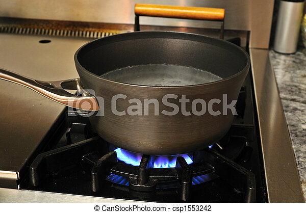 Wasser kochen. - csp1553242