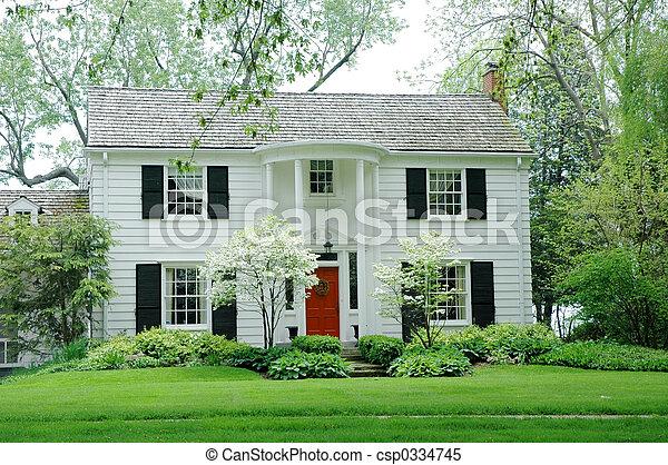 Weißes Haus - csp0334745